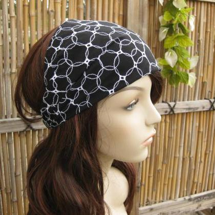 Turban Head Wrap, Wide Hair Band, W..